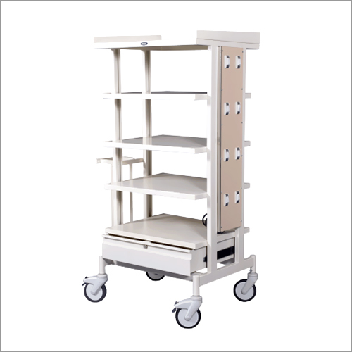Monitor Trolley (Powder Coated)