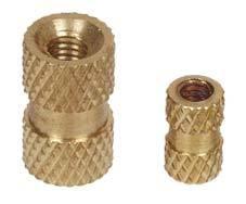 Brass Diamond Knurling Inserts