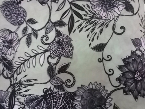 Graphic Print Fabric