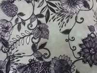Graphic Print Fabric
