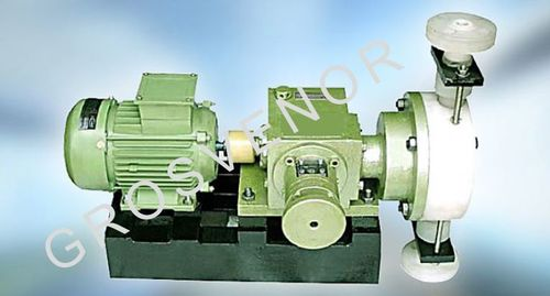 Mechanically Actuated Diaphragm Horizontal Type Pumps