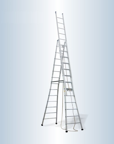 Aluminum Self Supported Extension Ladder