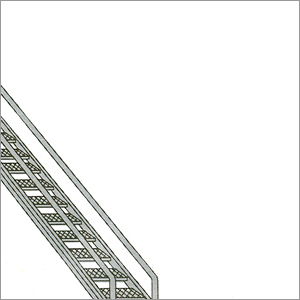 Aluminum Single Slant Type Ladder
