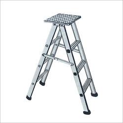 Aluminum Stool Folding Ladder