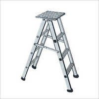 Aluminum Stool Folding Ladder