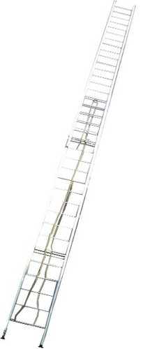 Aluminum Wall Supported Extension Ladder