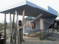 Stainless Steel PEB Bus Stand