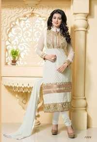 Blissta White Designer Salwar Suit