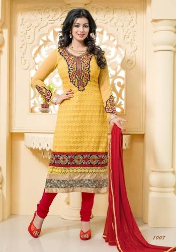 Designer Karachi Work Salwar Suit