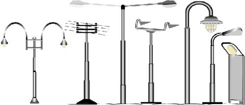 Swaged Tubular Pole