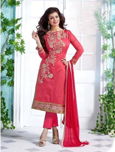 Designer Chanderi Salwar Suit