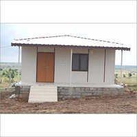Prefab Hut on Uneven Ground