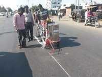 Road Line Marking Machine