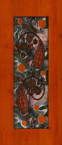 Elegant Door Skin Paper Print
