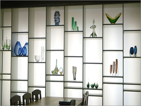Backlight solutions for ONYX, Display shelves & li