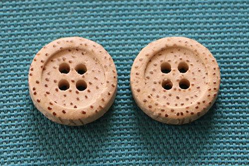 Bamboo Button