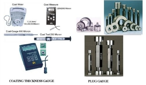 PLUG GAUGE & COATING THICKNESS GAUGE