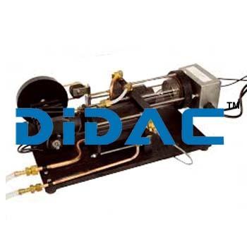 Closed Cycle Hot Air Engine Apparatus