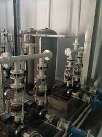 Pressurised Pumping Station