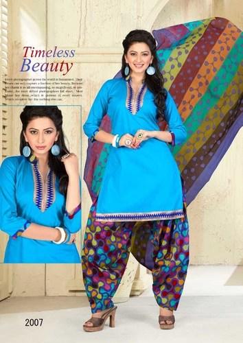 Miss India Cotton Suit Catalog