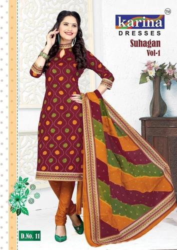 Suhagan Cotton Salwar Kameez