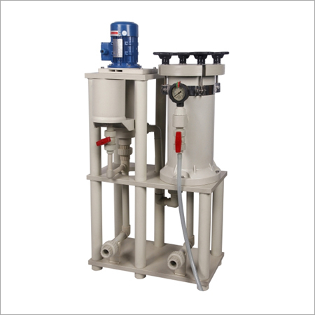 Chemical Filter With Self Priming Pump