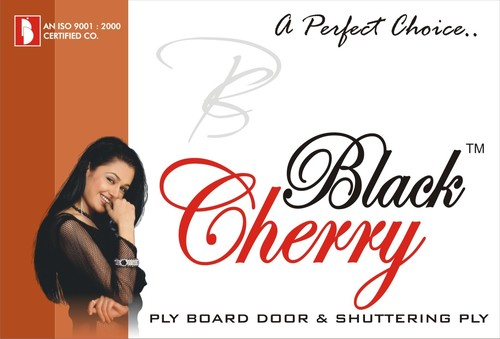BLACK CHARRY PLYWOOD