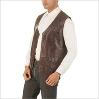 Mens Leather Waist Coats