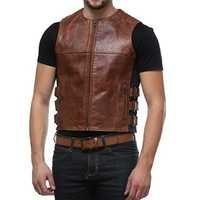 Leather Waist Coat
