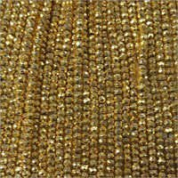 Pyrite Coated 3-4Mm Beads