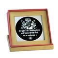 Gayatri Mantra Silver Swasthik Design Pendant