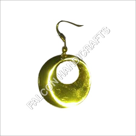 Brass Gold Plated Earring