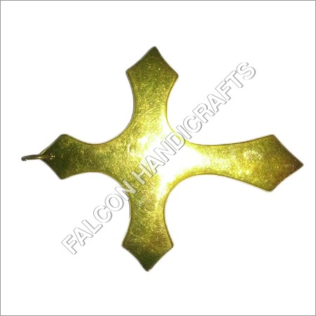 Brass Gold Cross