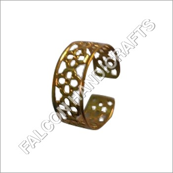 Brass Gold Cuff Ring