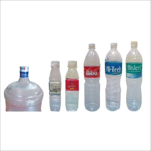 Mineral Water PET Bottle Sleeve