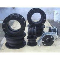 Black Hypalon Rubber Bellow