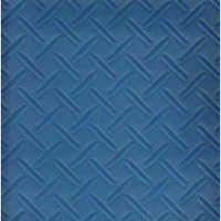 Chequered Ocean Blue Vinyl Flooring