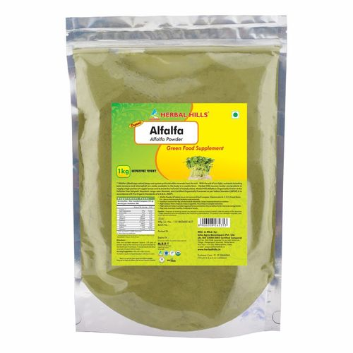 Organic Alfalfa 1kg Powder - Weight loss & Blood Circulation