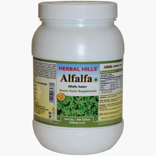 Organic Alfalfa 900 Tablets Value Pack - Weight loss & Blood Circulation