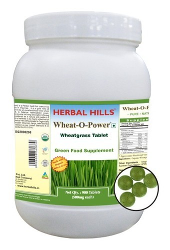 Wheatgrass 900 Tablet Wheat-o-power - Immunity & Blood Purification