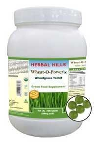 Wheatgrass 900 Tablet Wheat-o-power - Immunity & Blood Purification
