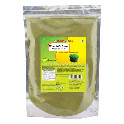 Wheatgrass 500gm Value Pack Powder - Blood Sugar management & Blood Purifier