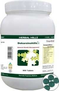 Dekarsinohills Tablet - Cancer Care Herbal Medicine