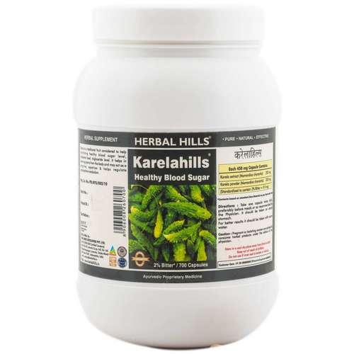 Ayurvedic Medicine For Diabetes - Blood Sugar Control - Karela 700 Capsule