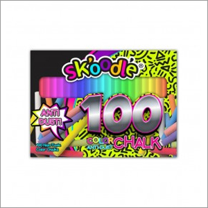 100 pc Assorted Color Chalk