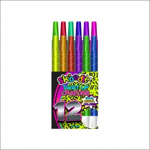 12 Pack Twist-Up Crayons