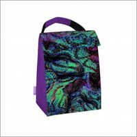 Electric Anaconda Print  Thermal Lunch Tote