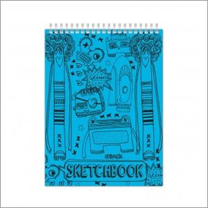 Skoodle Doodlz Sketch Book  Acid Free Blue