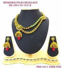 Designer Antique Polki Necklace