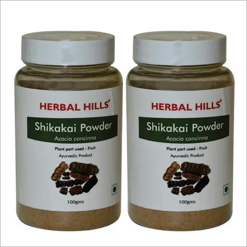 Ayurvedic Shikakai Powder 100gm for Healthy Hair (Pack of 2)